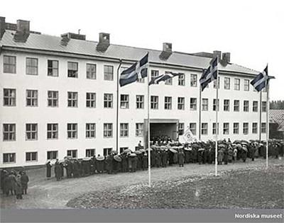 Invigning av Lantbrukshögskolan 1932. Nordiska museet, CC BY-NC-ND