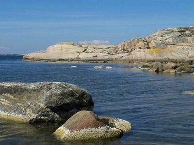 Marina kustlandskap.