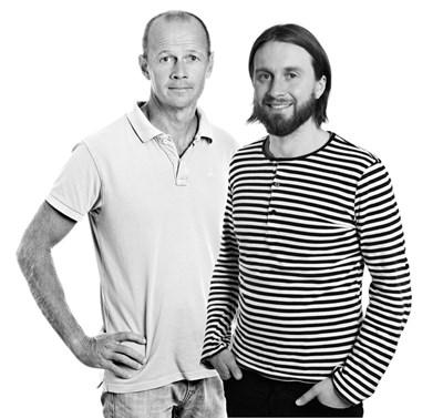 Håkan Wennhage (t.v.) och Jens Olsson (t.h.). Foto: Lasses foto (Håkan) och Jenny Svennås-Gillner, SLU (Jens).