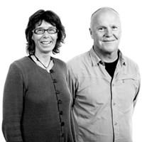 Anna-Lena Axelsson och/and Lars Edenius. Foto: Viktor Wrange.