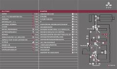 Länk till planritningar över SLU:s byggnad på universitetsområdet (pdf, 165 kb, öppnas i nytt fönster).