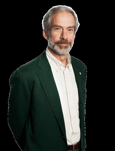 Kevin Bishop, vicerektor med ansvar för miljöanalys. Foto: Jenny Svennås-Gillner, SLU