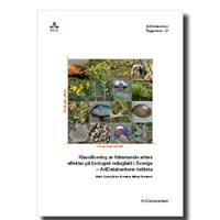 Bild Rapport klassificering av främmande arter