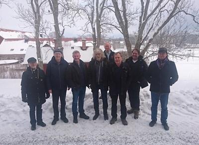 Expertkommittén fjärilar. Foto: Karin Ahrné