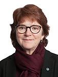 Bild på biträdande universitetsdirektör Birgitta Wikmark Carlsson. Foto: Jenny Svennås-Gillner.