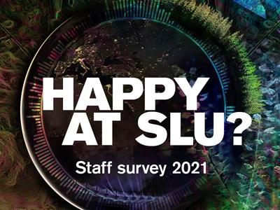 Symbol of SLU:s staff survey 2021.