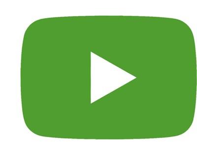 Bild på grön video-playknapp.