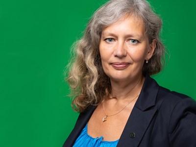 Rektor Maria Knutson Wedel. Foto.