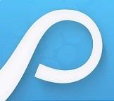 Logotype för systemet Proceedo. Skärmklipp.